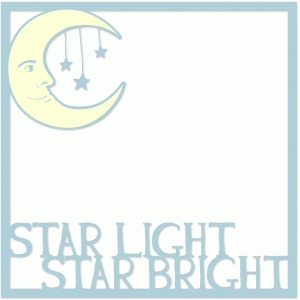 star light star bright 12x12 page