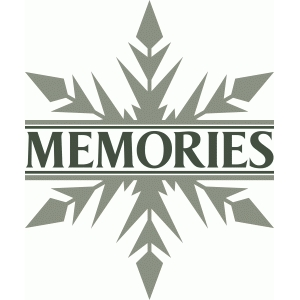 split snowflake memories