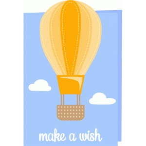 make a wish card