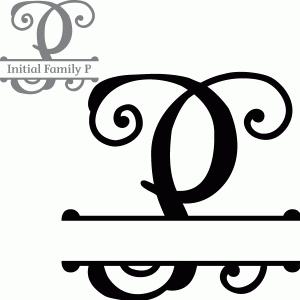 Split Initial Letter P