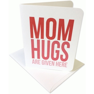 mom hugs a2 card