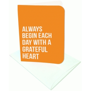 always begin each day a2 card