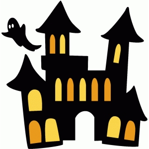 silhouette design store view design 94583 haunted house silhouette