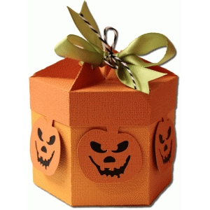 6 sided pumpkin carton
