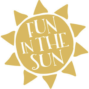 silhouette design store view design 140093 fun in the sun