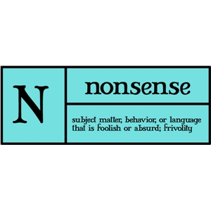 n is for nonsense pc