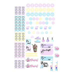 pastel dreams planner icons kit