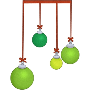 ornament dangles