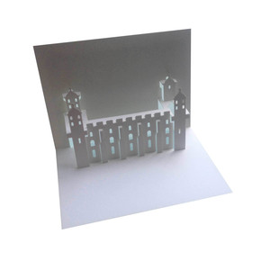 tower of london popup card