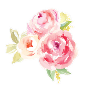 watercolor rose bouquet