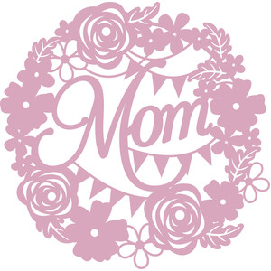 floral wreath mom
