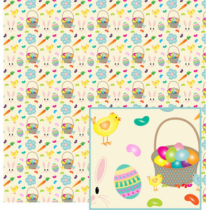 easter print paper