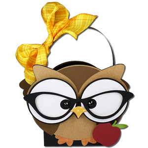 ms. owl teacher glasses basket