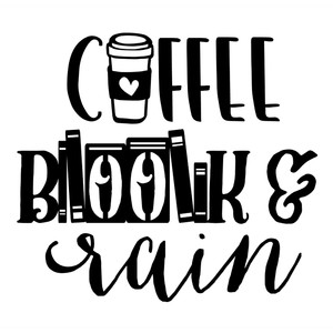 coffee, book & rain