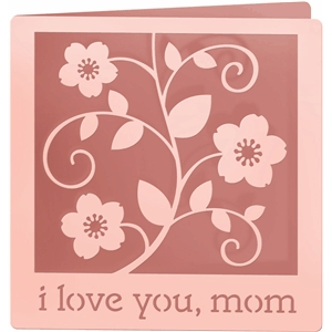 mother's day square card