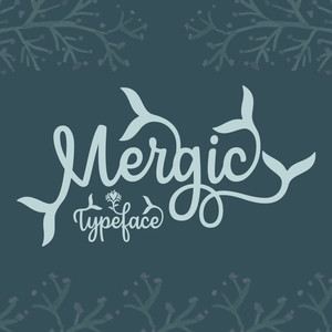mergic mermaid font