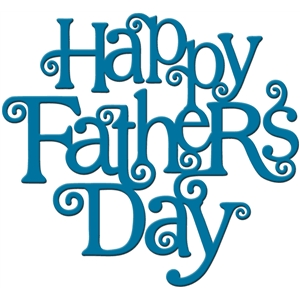 'happy father's day' word art