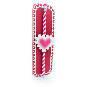 valentines day pencil holder