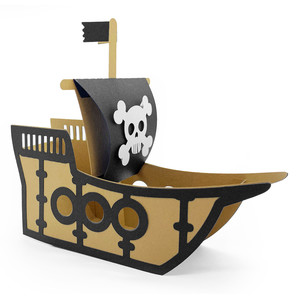 pirate ship box
