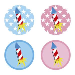 firecracker stickers