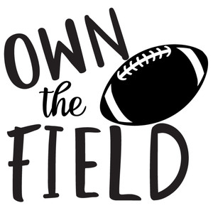 own the field football