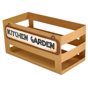 kitchen garden crate box
