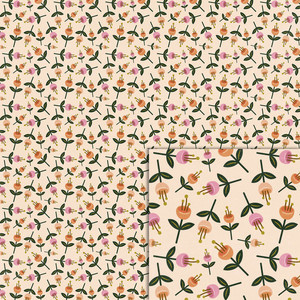 flowers background paper