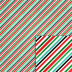 christmas stripes background paper