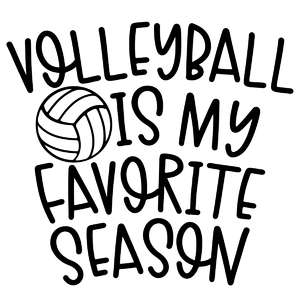 volleyball is my favorite season