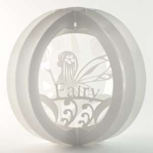 3 layered pop up sphere fairy