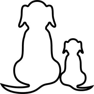 dog outlines