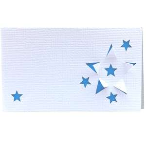 3d star place card