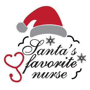 santa's favorite nurse