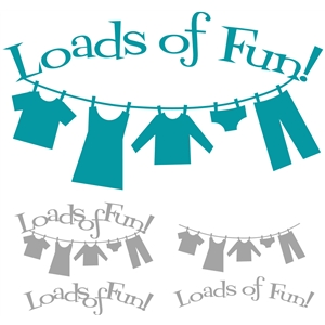 'loads of fun' word phrase