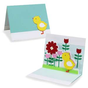 pop up card - chicky chick