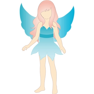 fairy costume for lizzy paper doll