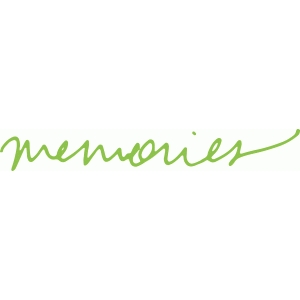 'memories' handwritten phrase