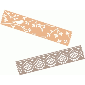 decorated washi