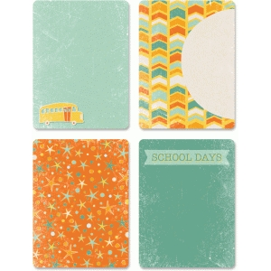 school days 3x4 card set pnc