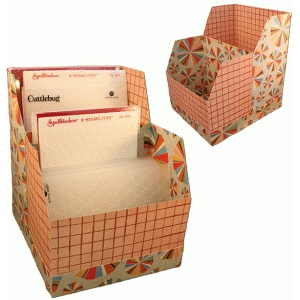 3d embossing folder storage box