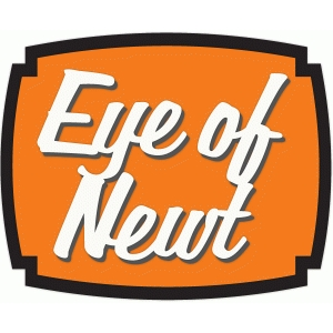 eye of newt halloween label