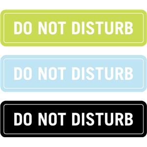 do no disturb