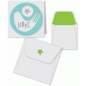 hope bird mini card and envelope set