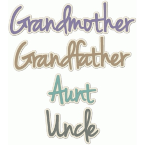 grandmother-grandfather-aunt-uncle