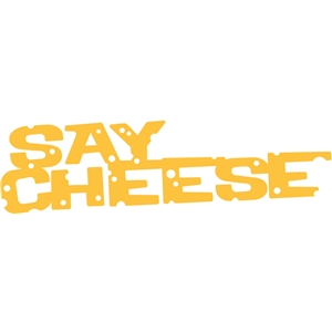 say cheese phrase