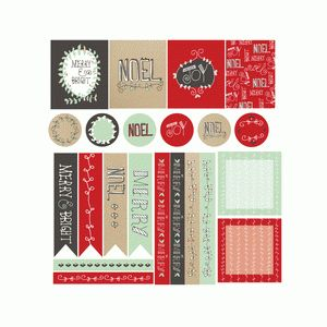 holiday tidings christmas planner stickers