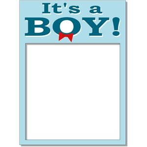 it's a boy frame