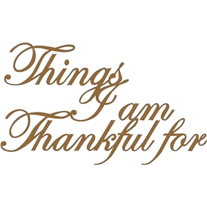 things i am thankful for phrase