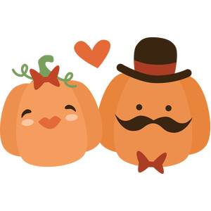 pumpkin couple