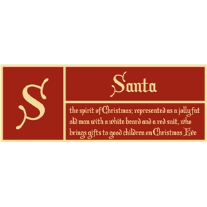 s is for santa pc